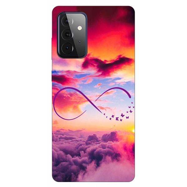 Husa Silicon Soft Upzz Print Compatibila Cu Samsung Galaxy A72 5g Model Infinity imagine itelmobile.ro 2021