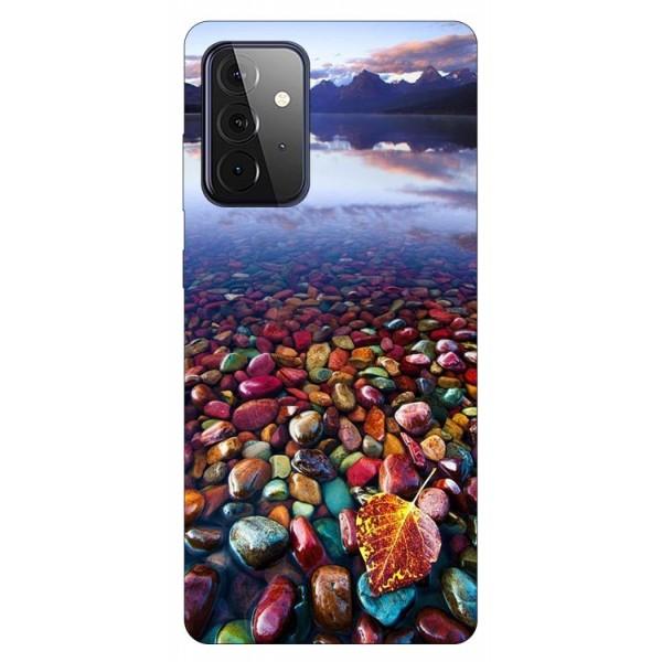 Husa Silicon Soft Upzz Print Compatibila Cu Samsung Galaxy A72 5g Model Leaf imagine itelmobile.ro 2021
