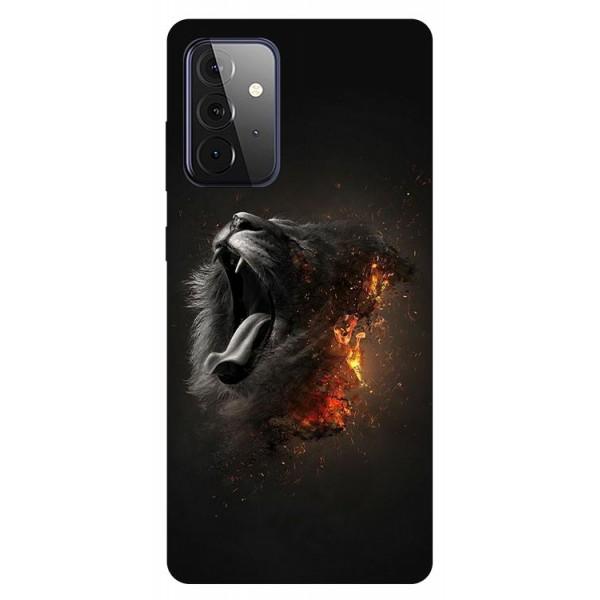 Husa Silicon Soft Upzz Print Compatibila Cu Samsung Galaxy A72 5g Model Lion imagine itelmobile.ro 2021