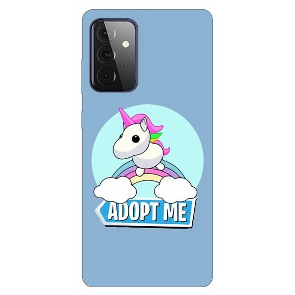 Husa Silicon Soft Upzz Print Compatibila Cu Samsung Galaxy A72 5g Model Pink Unicorn imagine itelmobile.ro 2021