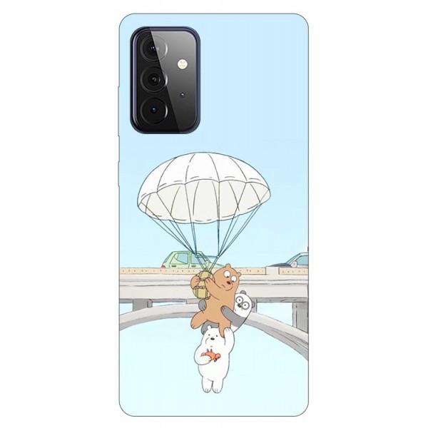 Husa Silicon Soft Upzz Print Compatibila Cu Samsung Galaxy A72 5g Model Three Bears imagine itelmobile.ro 2021