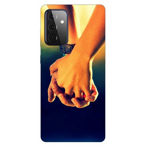 Husa Silicon Soft Upzz Print Compatibila Cu Samsung Galaxy A72 5g Model Together imagine itelmobile.ro 2021