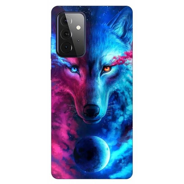 Husa Silicon Soft Upzz Print Compatibila Cu Samsung Galaxy A72 5g Model Wolf imagine itelmobile.ro 2021