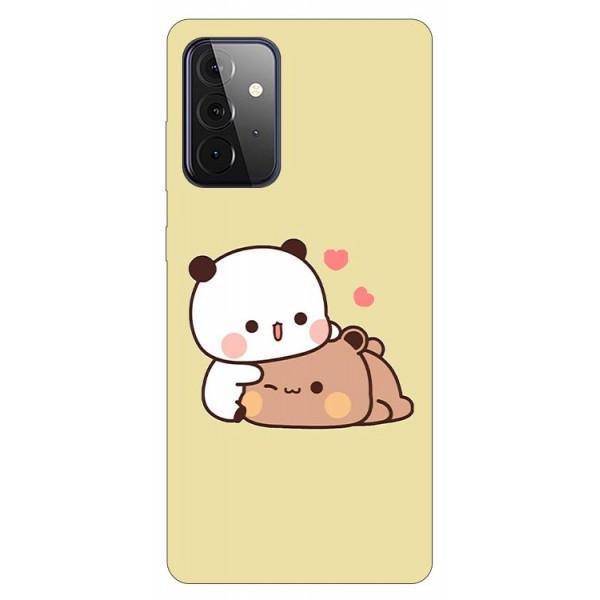 Husa Silicon Soft Upzz Print Compatibila Cu Samsung Galaxy A72 5g Model Teddy imagine itelmobile.ro 2021