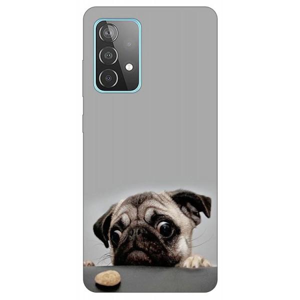 Husa Silicon Soft Upzz Print Compatibila Cu Samsung GalaxyA52 4G / A52 5G Model Dog imagine itelmobile.ro 2021