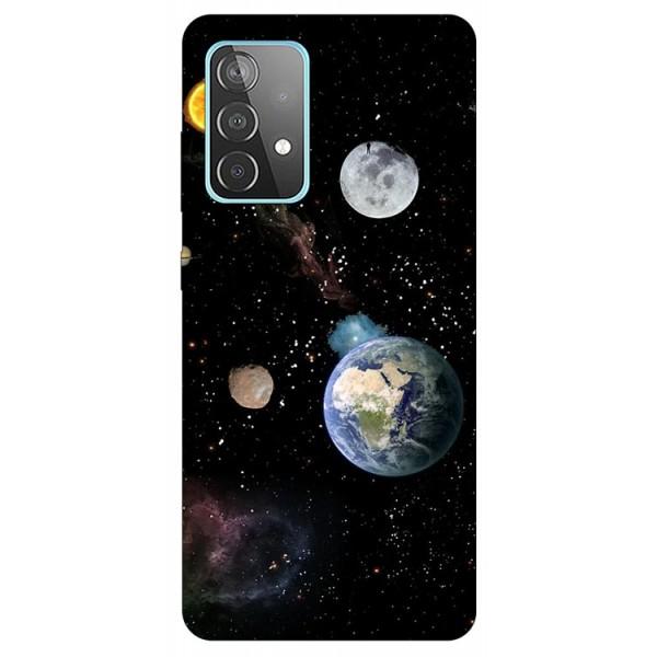 Husa Silicon Soft Upzz Print Compatibila Cu Samsung Galaxy A52 4G / A52 5G Model Earth imagine itelmobile.ro 2021