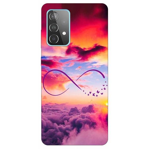 Husa Silicon Soft Upzz Print Compatibila Cu Samsung Galaxy A52 4G / A52 5G Model Infinity imagine itelmobile.ro 2021