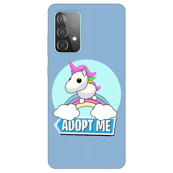Husa Silicon Soft Upzz Print Compatibila Cu Samsung Galaxy A52 4G / A52 5G Model Pink Unicon imagine itelmobile.ro 2021