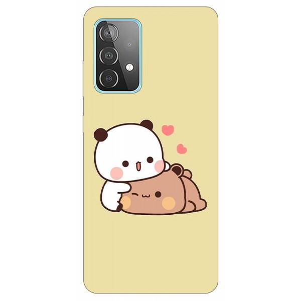 Husa Silicon Soft Upzz Print Compatibila Cu Samsung Galaxy A52 4G / A52 5G Model Teddy imagine itelmobile.ro 2021