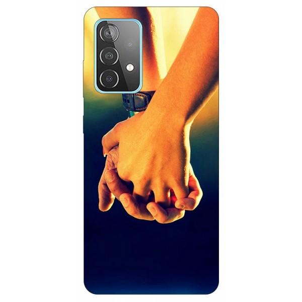 Husa Silicon Soft Upzz Print Compatibila Cu Samsung Galaxy A52 4G / A52 5G Model Together imagine itelmobile.ro 2021