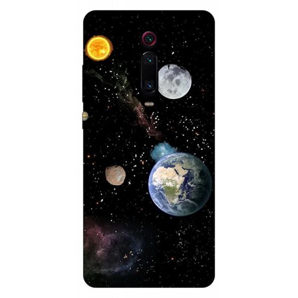 Husa Silicon Soft Upzz Print Compatibila Cu Xiaomi Redmi 9t Model Earth imagine itelmobile.ro 2021
