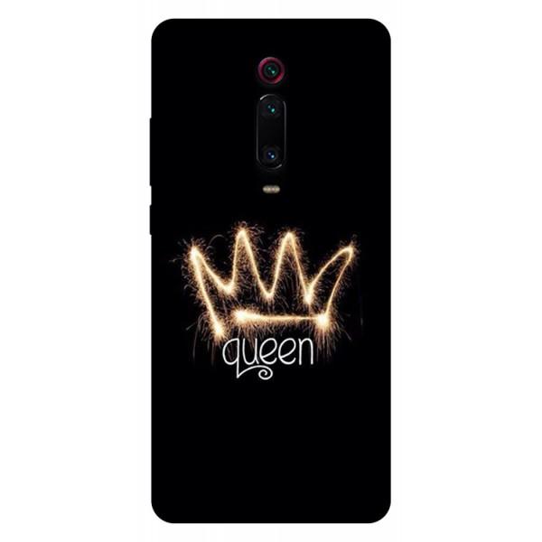 Husa Silicon Soft Upzz Print Compatibila Cu Xiaomi Redmi 9t Model Queen imagine itelmobile.ro 2021
