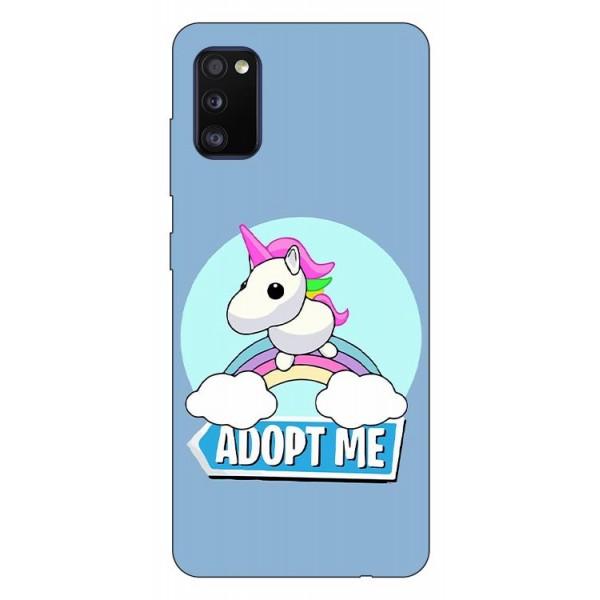 Husa Silicon Soft Upzz Print Compatibila Cu Samsung Galaxy A02s Model Pink Unicorn imagine itelmobile.ro 2021