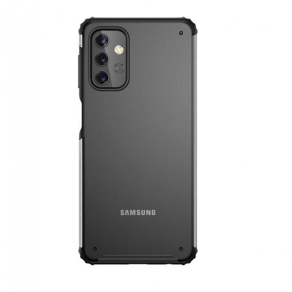 Husa Spate Upzz Hybridshell Compatibila Cu Samsung Galaxy A32 5g, Frosted Negru imagine itelmobile.ro 2021