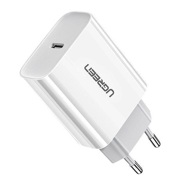 Incarcator Retea Ugreen Pd 3.0, Quick Charge 4.0 18w, 3a, Alb Compatibil Cu iPhone, Samsung, Xiaomi, Huawei imagine itelmobile.ro 2021