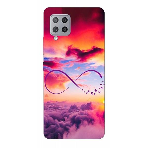 Husa Silicon Soft Upzz Print Compatibila Cu Samsung Galaxy A12 Model Infinity imagine itelmobile.ro 2021