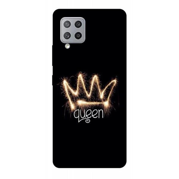 Husa Silicon Soft Upzz Print Compatibila Cu Samsung Galaxy A12 Model Queen imagine itelmobile.ro 2021