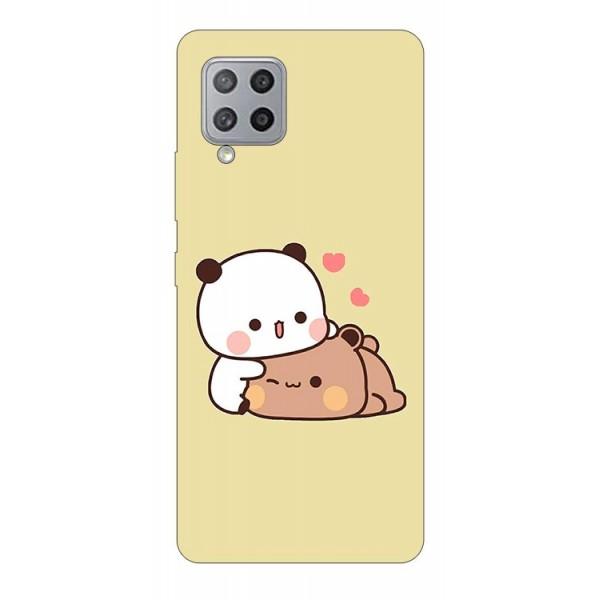 Husa Silicon Soft Upzz Print Compatibila Cu Samsung Galaxy A12 Model Teddy imagine itelmobile.ro 2021