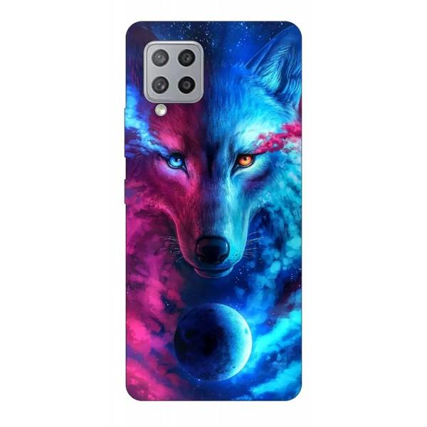 Husa Silicon Soft Upzz Print Compatibila Cu Samsung Galaxy A12 Model Wolf imagine itelmobile.ro 2021