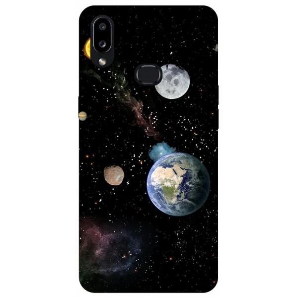Husa Silicon Soft Upzz Print Compatibila Cu Samsung Galaxy A10s Model Earth imagine itelmobile.ro 2021