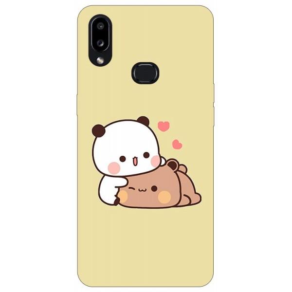 Husa Silicon Soft Upzz Print Compatibila Cu Samsung Galaxy A10s Model Teddy imagine itelmobile.ro 2021