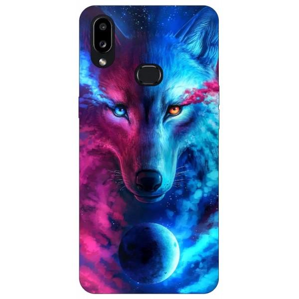 Husa Silicon Soft Upzz Print Compatibila Cu Samsung Galaxy A10s Model Wolf imagine itelmobile.ro 2021