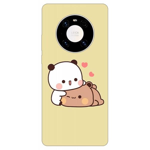 Husa Silicon Soft Upzz Print Compatibila Cu Huawei Mate 40 Pro Model Teddy imagine itelmobile.ro 2021
