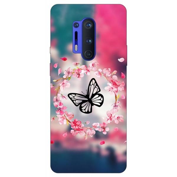 Husa Silicon Soft Upzz Print Compatibila Cu Oneplus 8 Pro Model Butterfly imagine itelmobile.ro 2021