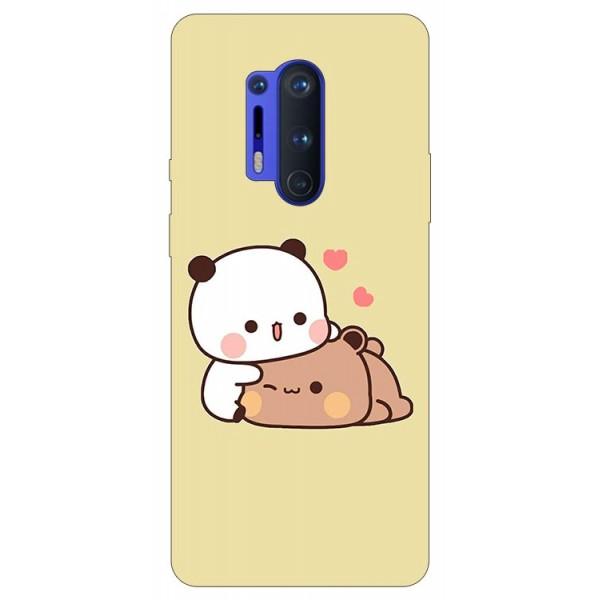 Husa Silicon Soft Upzz Print Compatibila Cu Oneplus 8 Pro Model Teddy imagine itelmobile.ro 2021