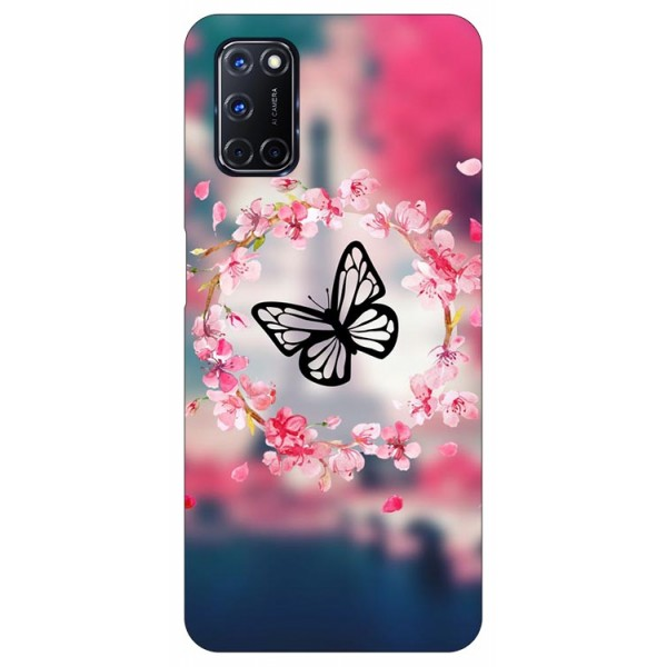 Husa Silicon Soft Upzz Print Compatibila Cu Oppo A72 Model Butterfly imagine itelmobile.ro 2021
