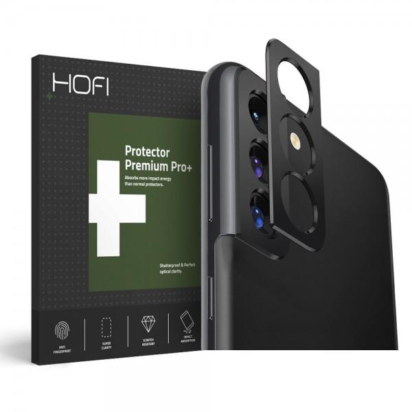 Protectie Camera Alminiu Hofi Pentru Samsung Galaxy S21+ Plus, Negru imagine itelmobile.ro 2021
