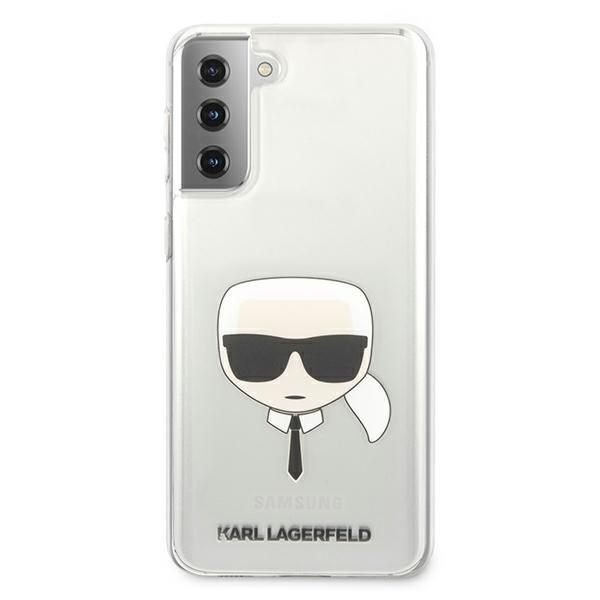 Husa Premium Originala Karl Lagerfeld Compatibila Cu Samsung Galaxy S21+ Plus, Transparenta - Klhcs21mktr imagine itelmobile.ro 2021