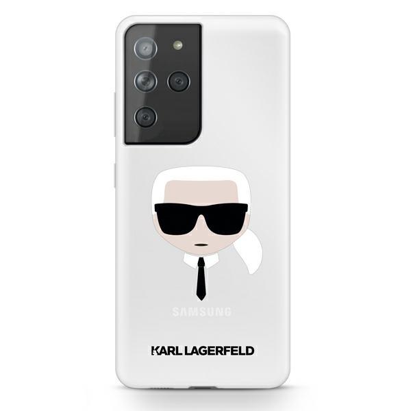 Husa Premium Originala Karl Lagerfeld Compatibila Cu Samsung Galaxy S21 Ultra, Transparenta - Klhcs21lktr imagine itelmobile.ro 2021