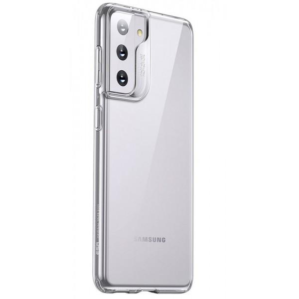 Husa Premium Esr Project Zero Compatibila Cu Samsung Galaxy S21, Silicon, Transparent imagine itelmobile.ro 2021