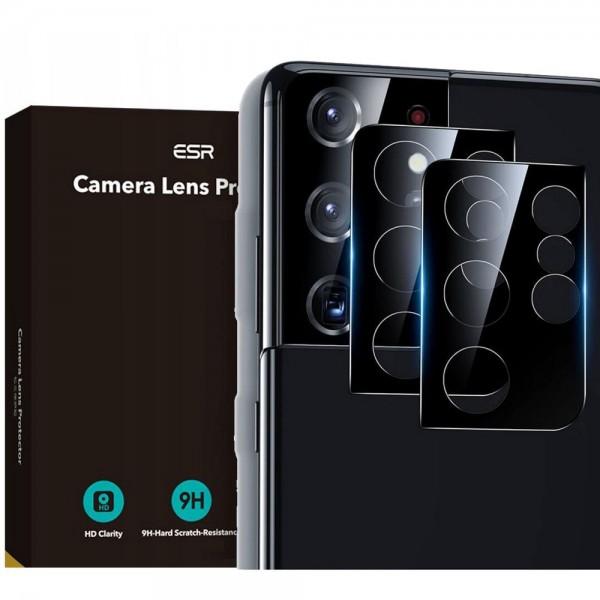 Folie Sticla Nano Glass Esr Camera Pentru Samsung Galaxy S21 Ultra, 2 Bucati In Pachet imagine itelmobile.ro 2021