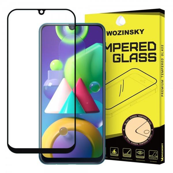 Folie Sticla Securizata Wozisnky Pentru Samsung Galaxy M21, Transparenta Cu Margine Neagra imagine itelmobile.ro 2021