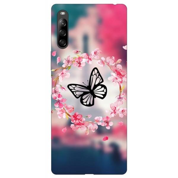 Husa Silicon Soft Upzz Print Compatibila Cu Sony Xperia 10 Ii Model Butterfly imagine itelmobile.ro 2021