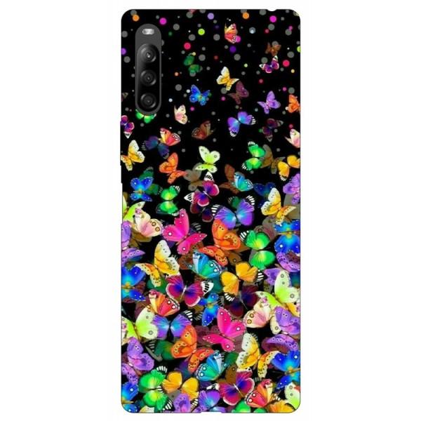 Husa Silicon Soft Upzz Print Compatibila Cu Sony Xperia 10 Ii Model Colorature imagine itelmobile.ro 2021