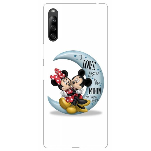 Husa Silicon Soft Upzz Print Compatibila Cu Sony Xperia 10 Ii Model Moon 2 imagine itelmobile.ro 2021