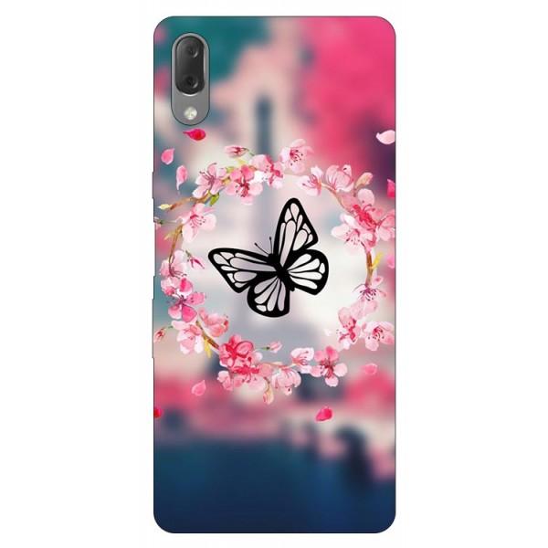 Husa Silicon Soft Upzz Print Compatibila Cu Sony Xperia L3 Model Butterfly imagine itelmobile.ro 2021