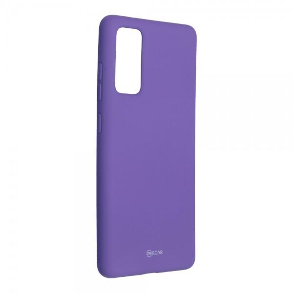 Husa Spate Silicon Roar Jelly Samsung Galaxy S20 Fe - Mov imagine itelmobile.ro 2021