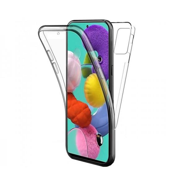 Husa 360 Grade Full Cover Upzz Case Pentru Samsung Galaxy A52 5g, Transparenta imagine itelmobile.ro 2021
