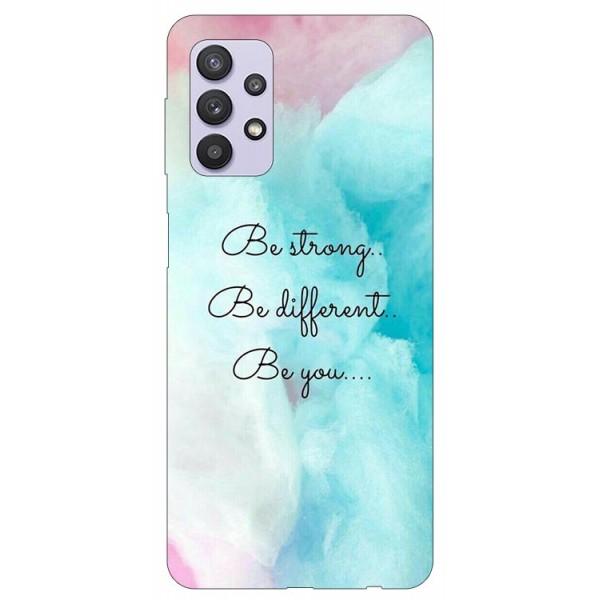 Husa Silicon Soft Upzz Print Compatibila Cu Samsung Galaxy A32 5g Model Be You imagine itelmobile.ro 2021