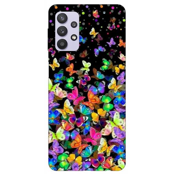 Husa Silicon Soft Upzz Print Compatibila Cu Samsung Galaxy A32 5g Model Colorature imagine itelmobile.ro 2021