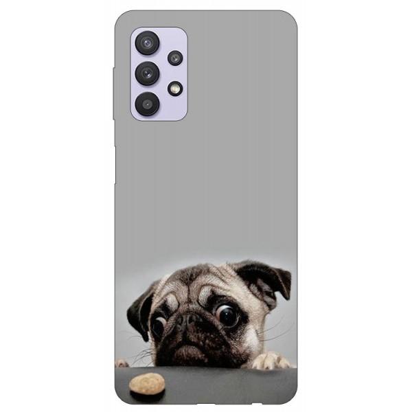 Husa Silicon Soft Upzz Print Compatibila Cu Samsung Galaxy A32 5g Model Dog imagine itelmobile.ro 2021