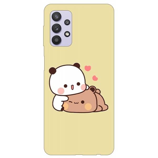 Husa Silicon Soft Upzz Print Compatibila Cu Samsung Galaxy A32 5g Model Teddy imagine itelmobile.ro 2021