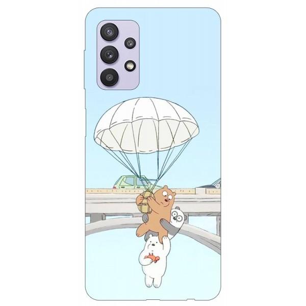 Husa Silicon Soft Upzz Print Compatibila Cu Samsung Galaxy A32 5g Model Three Bears imagine itelmobile.ro 2021