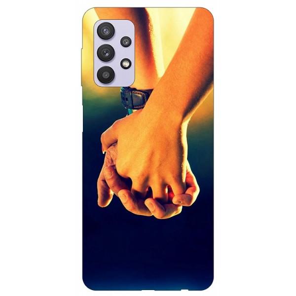 Husa Silicon Soft Upzz Print Compatibila Cu Samsung Galaxy A32 5g Model Together imagine itelmobile.ro 2021