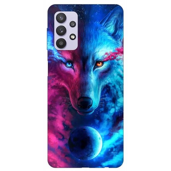 Husa Silicon Soft Upzz Print Compatibila Cu Samsung Galaxy A32 5g Model Wolf imagine itelmobile.ro 2021