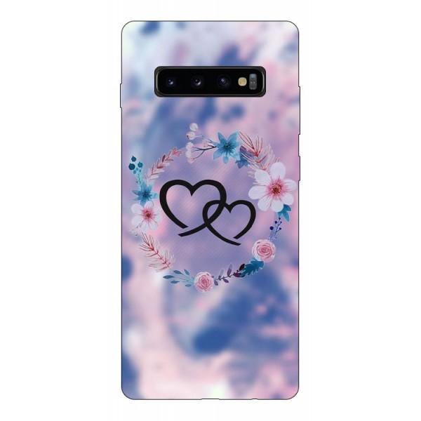 Husa Silicon Soft Upzz Print Compatibila Cu Samsung Galaxy S10+ Plus Model Love imagine itelmobile.ro 2021